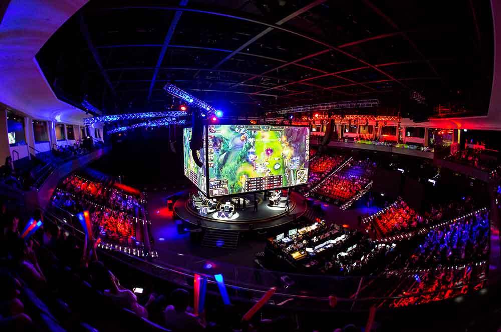 Studio City Casino har åpnet opp en eSports-arena med plass til 300.