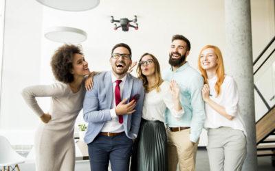 Droner – en nødvendighet eller en plage?