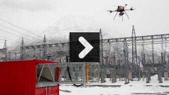 Droner skal avdekke feil på kraftnettet (VIDEO)
