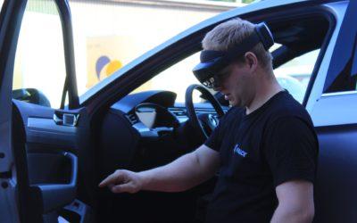 Snart bruker bilbergeren hologrambriller